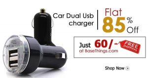 Epresent Dual USB 2 Port 2.1 AMP Car Charger:
