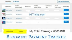 Blogmint Review: How I earned 100$ writing Sponsored Posts