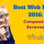 Best WordPress Web Hosting 2016: Compared & Reviewed