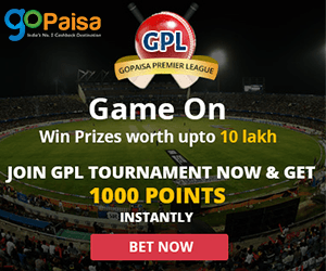 Gopaisa Premiere League: Cashless Bet, Play and Win Big