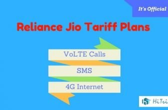 [Official] Reliance Jio 4g VoLTE Calls SMS Tariff Plans Complete List