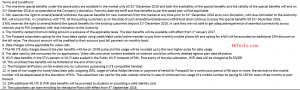 Reliance Jio Postpaid All In One Plans Terms and Conditions