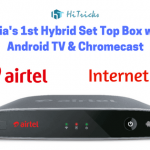 Buy Airtel Internet TV Set Top Box with Android TV & ChromeCast