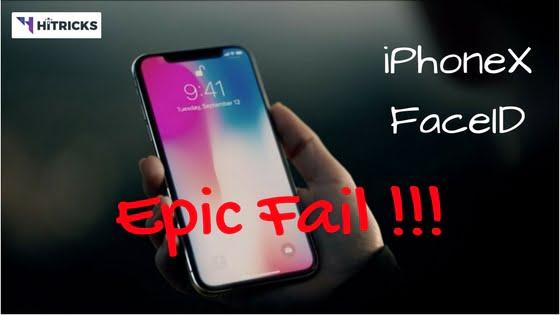 Apple iPhoneX FaceID Unlock is an EPIC FAIL!
