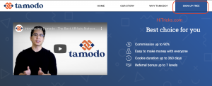 Tamodo Affiliate Network Review: Earn up to 7 Tiers