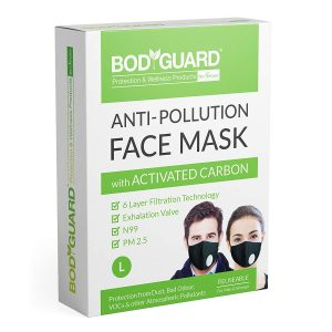 Bodyguard Reusable Anti Pollution Face Mask