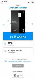 How to get OneCard Lifetime Free Metal Credit Card?