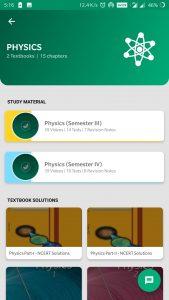 Meritnation app physics