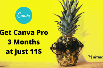 Get Canva Pro 3 Months Subscription for 11$