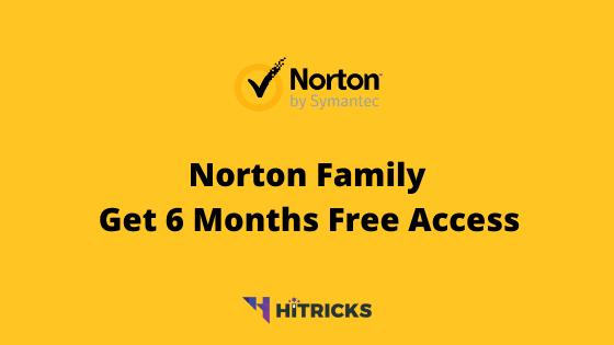 Norton Family: Get 6 Months Free Parental Control