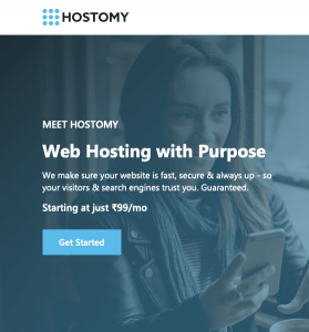 Hostomy Reviews Shared Web Hosting 2020