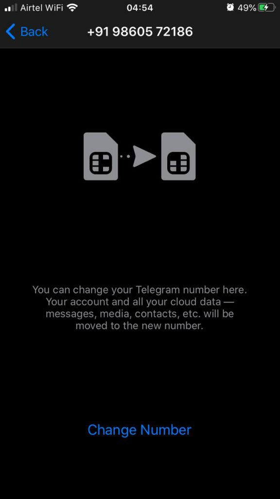 Telegram - Changing Number (1)