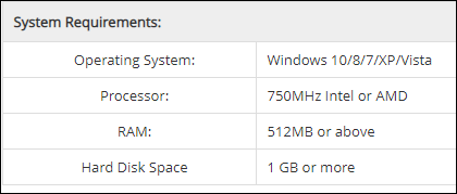 mobikin system requirements