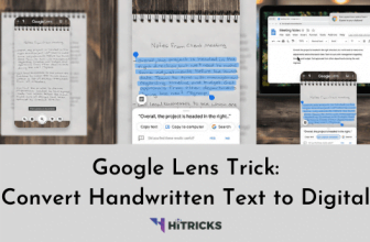 Google Lens Trick: Convert Handwritten Paper Text to Digital
