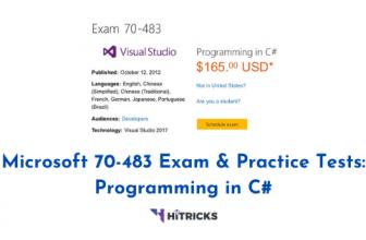 Microsoft 70-483 Exam & Practice Tests