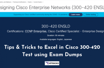 Tips and Tricks to Excel in Cisco 300-420 Test Using Exam Dumps