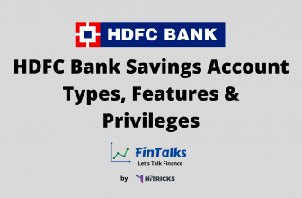 HDFC Bank Savings Account Types, Features & Privileges