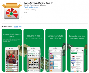 MoveAdvisor: The Best Moving Apps For Home Movers