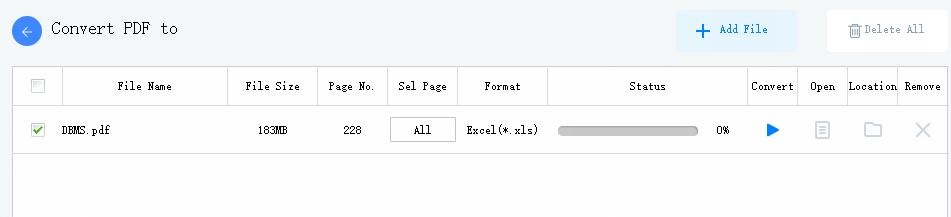 PDF WIZ UI