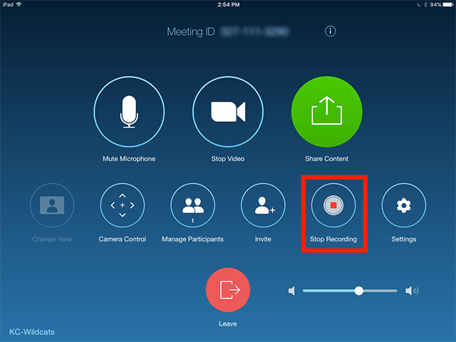 Zoom Call record
