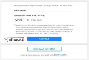 HDFC Lifetime Free Credit Cards Offer Nov-Dec 2020