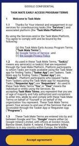 task mate agreement