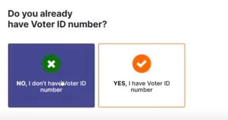 voter id number