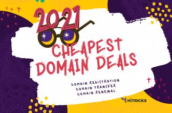 Domain Registration & Transfer Deals January 2021