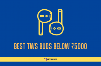 Best Truly Wireless (TWS) Buds Below ₹5000