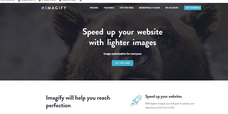 imagify image optimization plugin