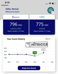 How to check your Credit Score using OneScore App?