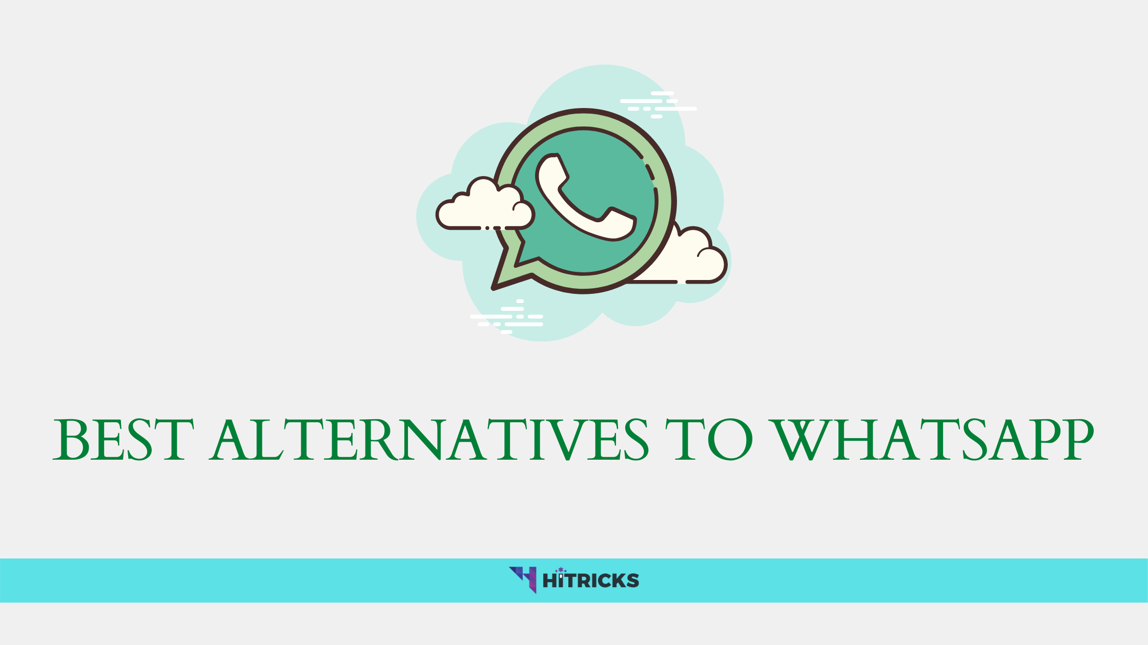 Best Alternatives to Whatsapp Messenger
