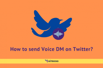 How to send Voice DM on Twitter?