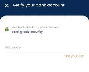 spenny verify your bank account