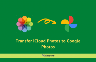 How to Transfer iCloud Photos to Google Photos?
