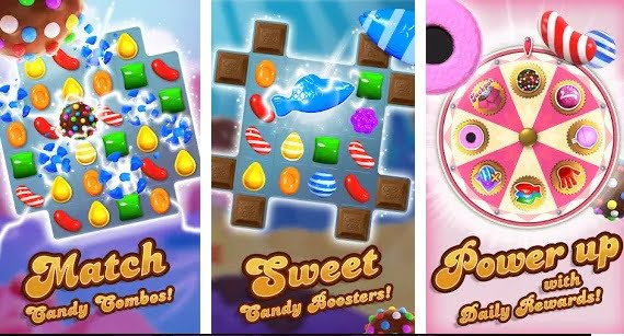 candy crush offline game for mobile