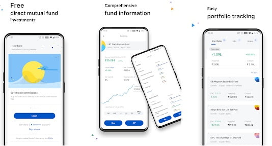 zerodha coin mutual funds app