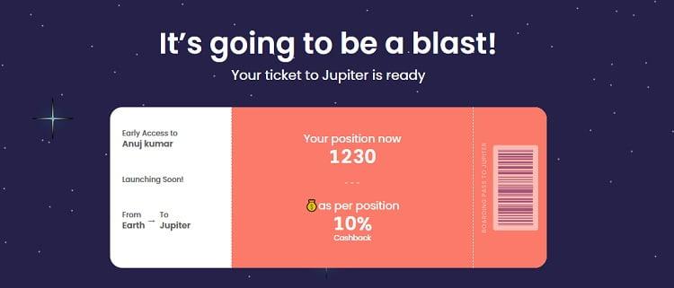 Jupiter waitlist