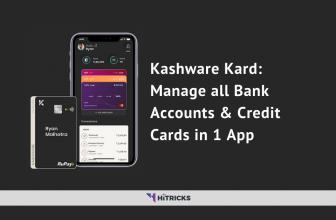 Kashware Kard: Manage all Bank Accounts & Credit Cards in 1 App