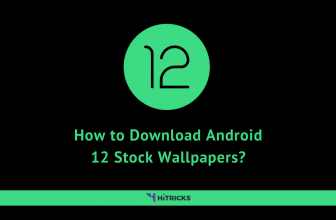 How to Download Android 12 Stock Wallpapers?