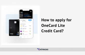 GUIDE: How to apply for OneCard Lite Credit Card?