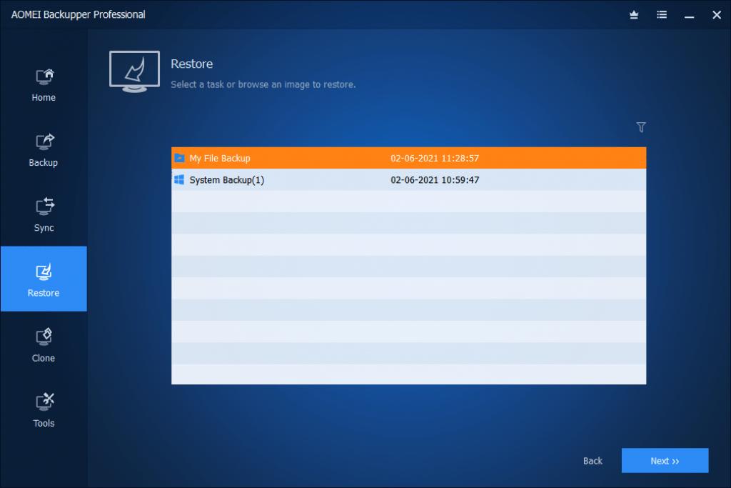 AOMEI-backupper-restore-operation