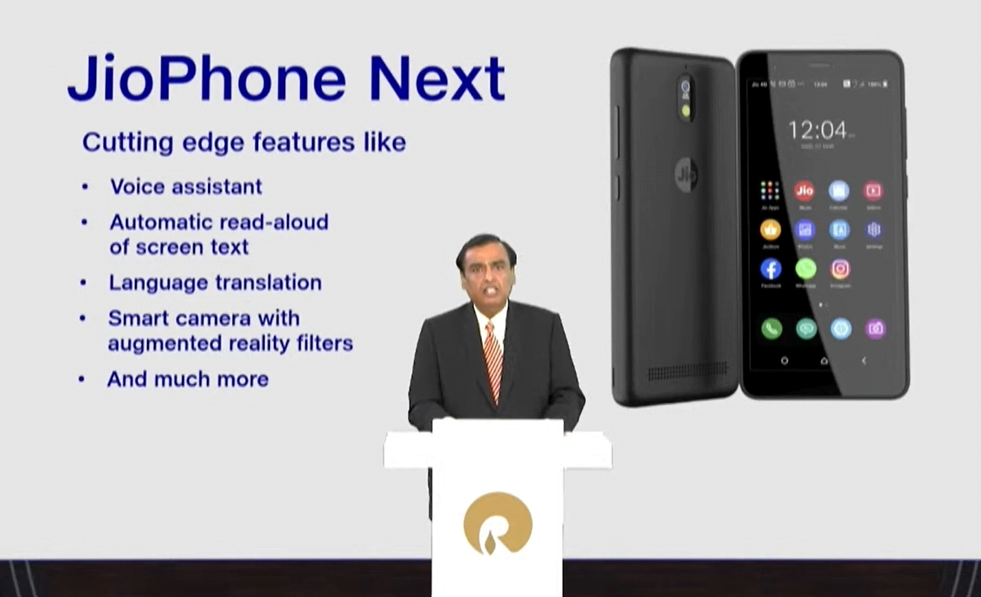 JioPhone Next Features & Specifications