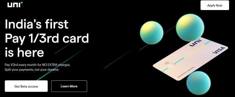 uni card