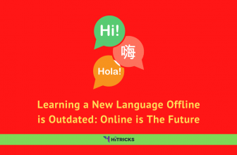 Learning a New Language Offline is Outdated: Online is The Future