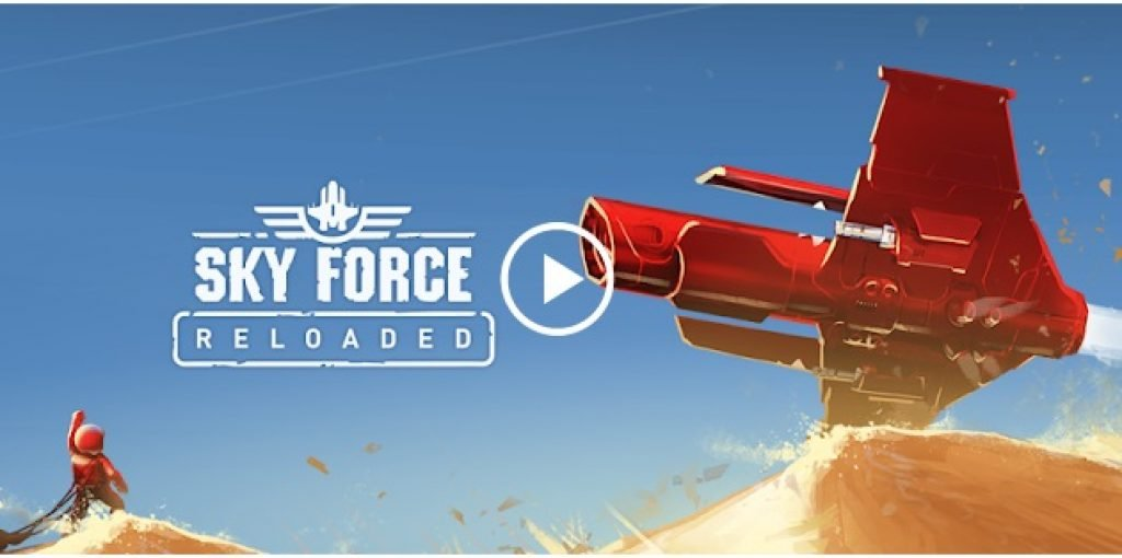 Sky force reloaded retro game