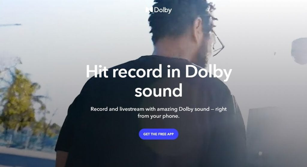 dolby on podcast app