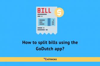 How to split bills using the GoDutch app?