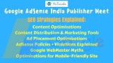 AdSense Publisher Meet: Exclusive SEO Strategies Explained by Google