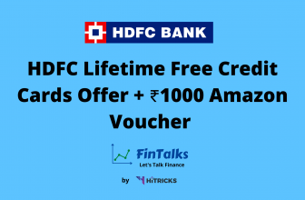 HDFC Lifetime Free Credit Cards Offer + ₹1000 Amazon Voucher